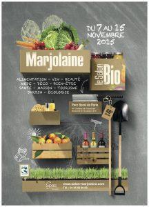 Affiche Salon Marjolaine 2015