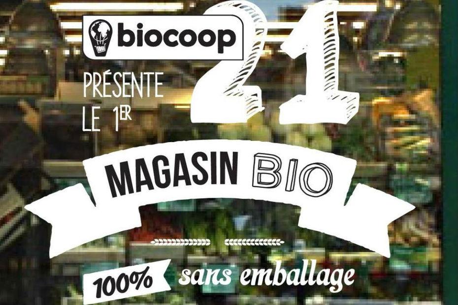Magasin Biocoop 21